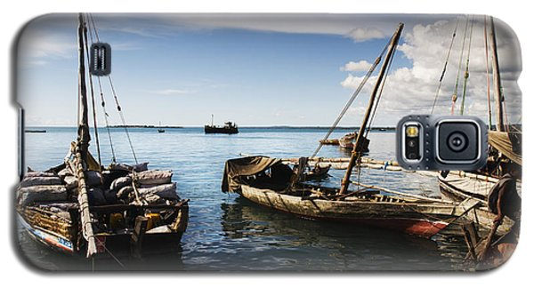 Indian Ocean Dhow At Stone Town Port Galaxy S5 Case