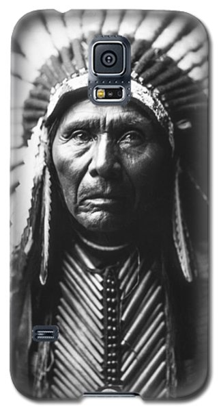 Portraits Galaxy S5 Case - Indian Of North America Circa 1905 by Aged Pixel