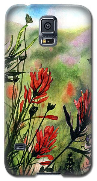 Indian Paint Brush Galaxy S5 Case
