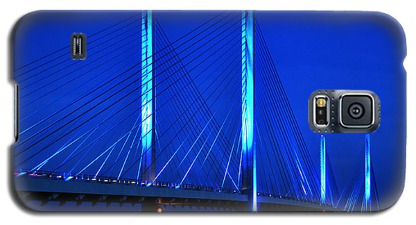 Indian River Bridge At Night Galaxy S5 Case