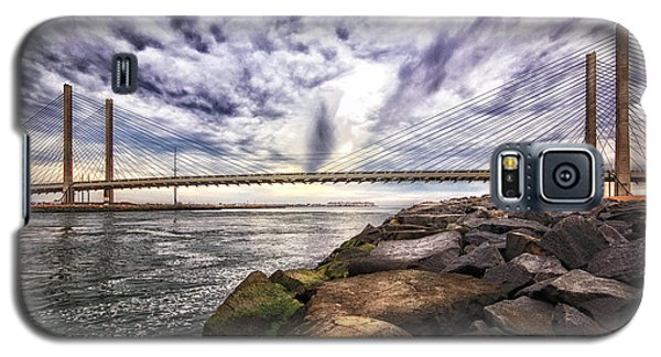 Indian River Bridge Clouds Galaxy S5 Case