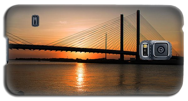Indian River Bridge Sunset Reflections Galaxy S5 Case