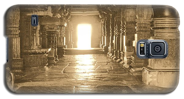 Galaxy S5 Case featuring the photograph Indian Temple by Mini Arora