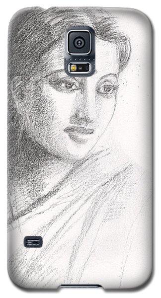 Indian Woman Galaxy S5 Case