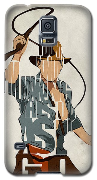 Indiana Jones - Harrison Ford Galaxy S5 Case by Ayse Deniz