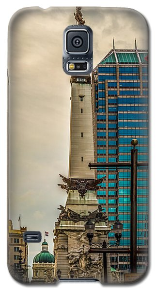 Indiana - Monument Circle With State Capital Building Galaxy S5 Case