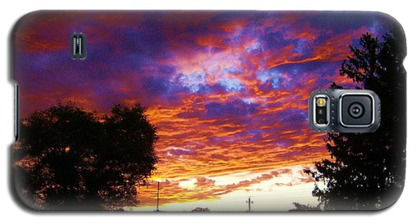 Indiana Sunset Galaxy S5 Case by P Dwain Morris