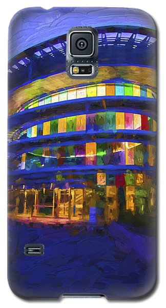 Indianapolis Indiana Museum Of Art Painted Digitally Galaxy S5 Case