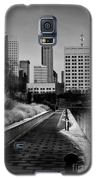 Indianapolis Skyline 21 Galaxy S5 Case by David Haskett