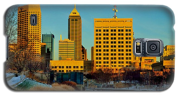 Indianapolis Skyline Dynamic Galaxy S5 Case