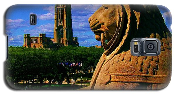 Indianapolis War Memorial Lion Galaxy S5 Case by P Dwain Morris