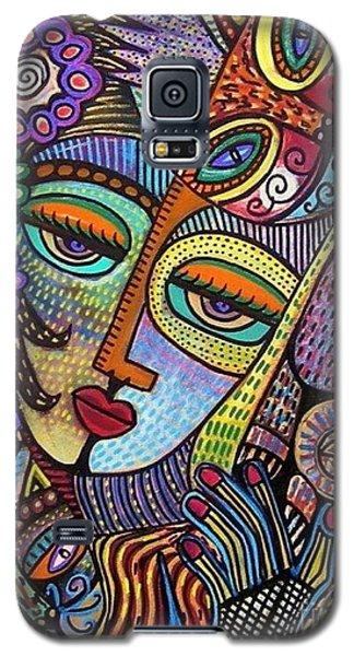 Indigo Tapastry Royal Cats Galaxy S5 Case
