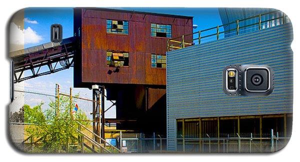 Industrial Power Plant Architectural Landscape Galaxy S5 Case