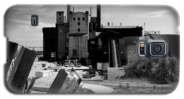 Industrial Power Plant Landscape Smokestacks Galaxy S5 Case