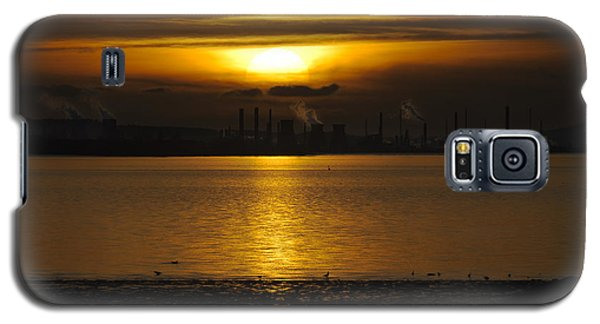 Industrial Sunset Galaxy S5 Case