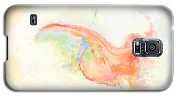 Galaxy S5 Case featuring the digital art Infantem Scriptor Pectora by Constance Krejci