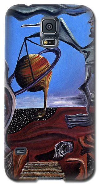 Galaxy S5 Case featuring the painting Infatuasilaphrene by Ryan Demaree