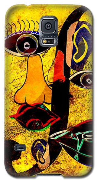 Infected Picasso Galaxy S5 Case by Ally  White