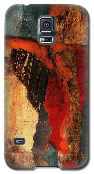 Galaxy S5 Case featuring the painting Infectious by Buck Buchheister