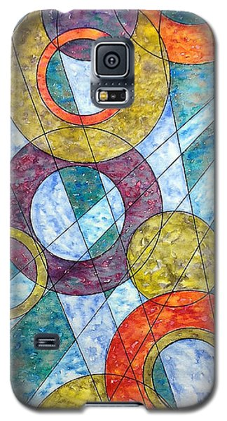 Galaxy S5 Case featuring the painting Infinite Loop by Rebecca Davis