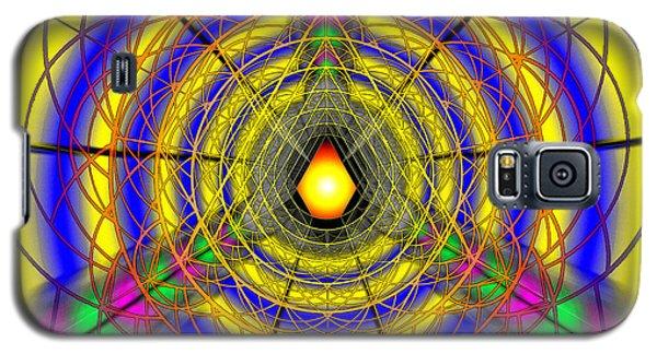Galaxy S5 Case featuring the drawing Infinity Gateway Nine by Derek Gedney