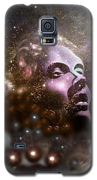 Galaxy S5 Case featuring the painting Infinity by James McAdams