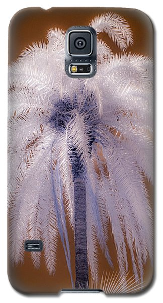 Infrared Palm Tree Galaxy S5 Case