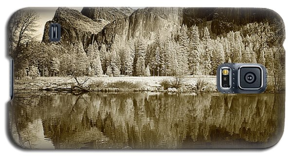 Infrared View Of Yosemite Galaxy S5 Case