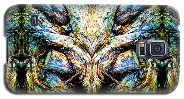Galaxy S5 Case featuring the photograph Ingrained Wings by Marianne Dow