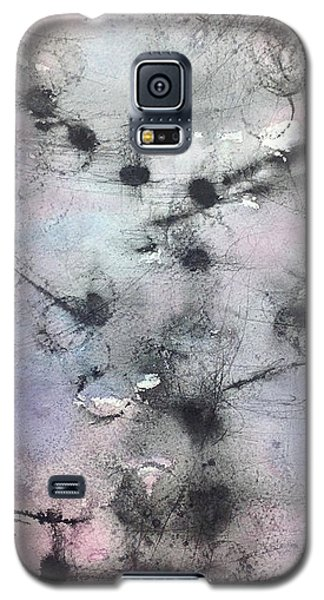 Galaxy S5 Case featuring the painting Ink Abstract by Rebecca Davis