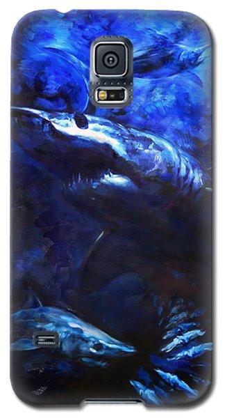 Swordfish Galaxy S5 Case - Inky Waters by Tom Dauria