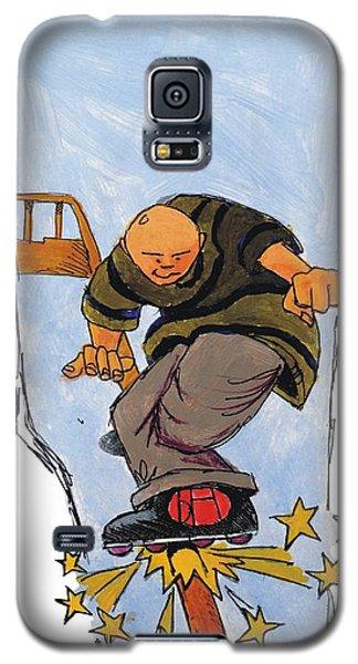Inline Skates Rail Grind Galaxy S5 Case