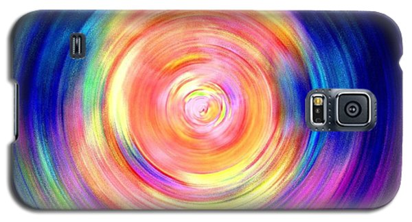 Inner Glow Abstract Art Galaxy S5 Case by Annie Zeno