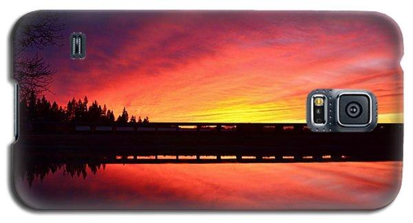 Inner Glow Sunset Galaxy S5 Case