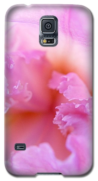 Galaxy S5 Case featuring the photograph Inner Iris-2of4 by Jana Russon