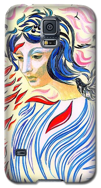 Dove Galaxy S5 Case - Inner Peace by Jane Small
