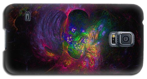 Galaxy S5 Case featuring the digital art Inner Psyche by Arlene Sundby