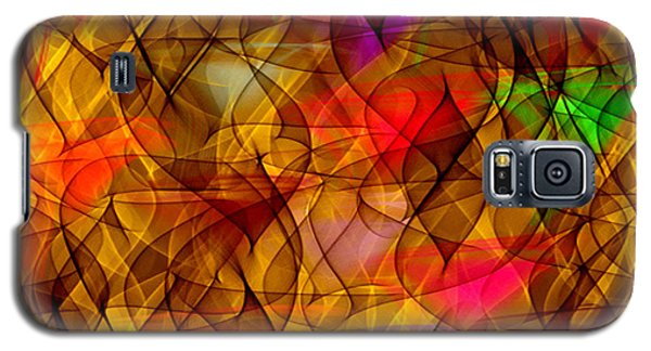 Galaxy S5 Case featuring the digital art Inner Thoughts 2 by Gayle Price Thomas