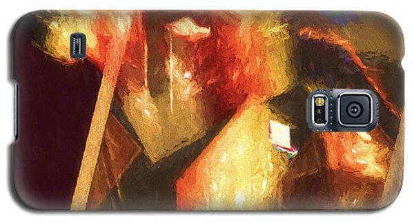 Inner Turmoil Digital Oil Painting Galaxy S5 Case