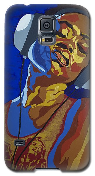 Galaxy S5 Case featuring the painting Innervisions by Rachel Natalie Rawlins