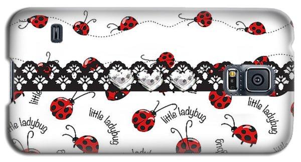 Innocent Ladybugs  Galaxy S5 Case by Debra  Miller