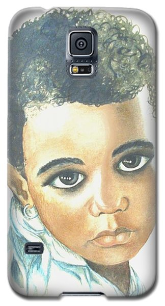 Galaxy S5 Case featuring the painting Innocent Sorrow by Sophia Schmierer