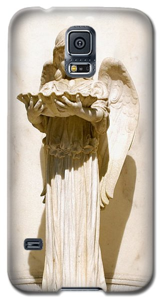Galaxy S5 Case featuring the photograph Inoscence Of An Angel by Kathy Gibbons