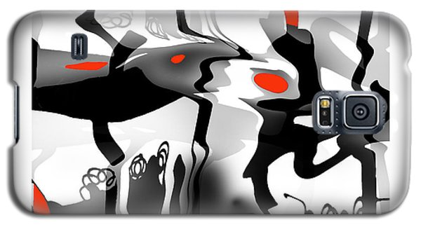 Galaxy S5 Case featuring the digital art Insect  T  Sides by Bob Salo