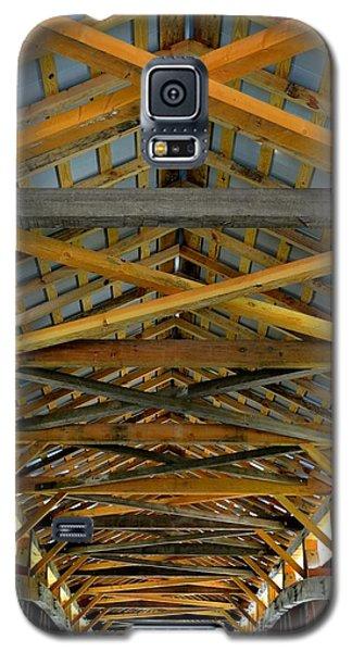 Inside A Covered Bridge 3 Galaxy S5 Case