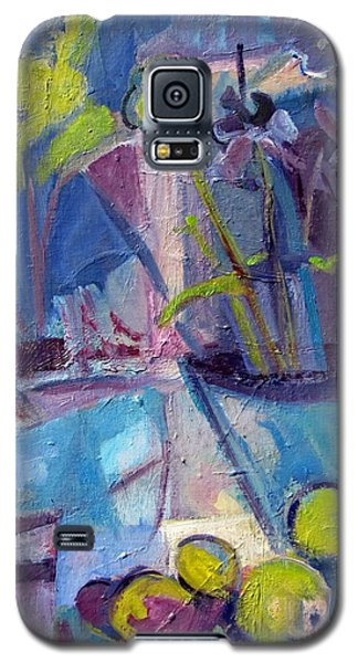 Inside And Outside Abstract Expressionism Galaxy S5 Case