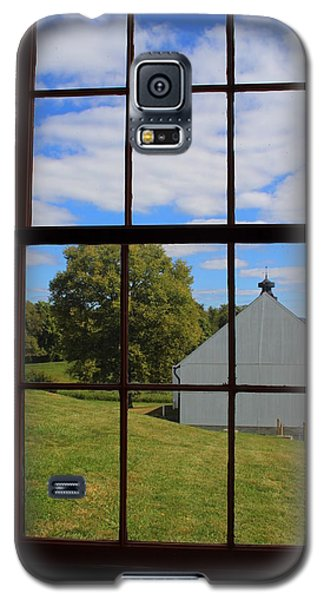 Galaxy S5 Case featuring the photograph Inside Looking Out by Debra Kaye McKrill