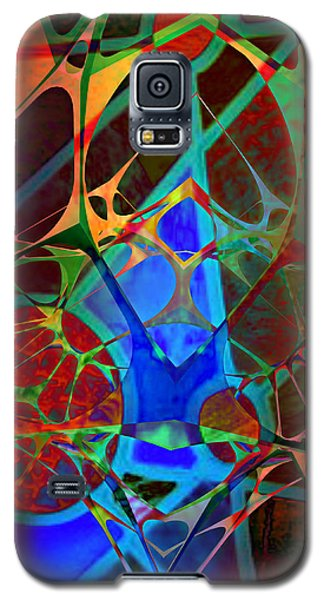Inside Out Galaxy S5 Case by Ally  White