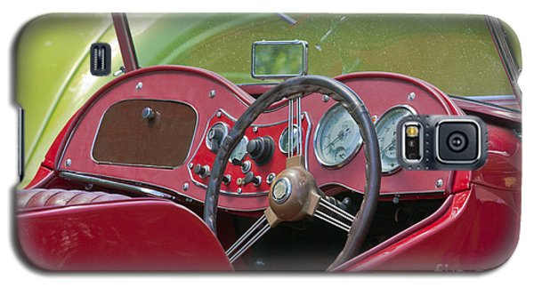 Red Mg-td Convertible  Galaxy S5 Case by Terri Waters