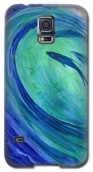 Inside The Curl Galaxy S5 Case